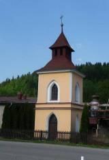 Pohled na kapličku v Ujčově