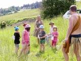 Dětský den v Lískovci - Afrika