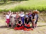 Dětský den v Lískovci - společná fotografie účinkujících