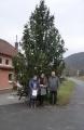 Vítězný strom v soutěži v Dolním Čepí
