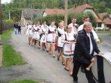 Průvod krojovaných obcí Dolní Čepí