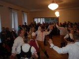 Taneční vystoupení v kulturním domě