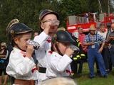 Hašení žízně malých hasičů
