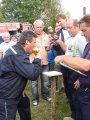 Pití piva na čas - člen SDH Lískovec