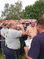 Pití piva na čas - člen SDH Dolní Čepí