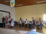 Vystoupení ve hře na akordeon